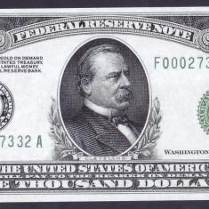 Bancnota Statele Unite ale Americii 1, 000 Dolari 1928 - P426 UNC ( replica ) - bancnota america
