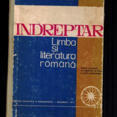 Indreptar limba si literatura romana - Augustin Macarie, Doina Macarie - Studiu literar