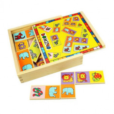 Domino pentru Copii - Carucior Gemeni