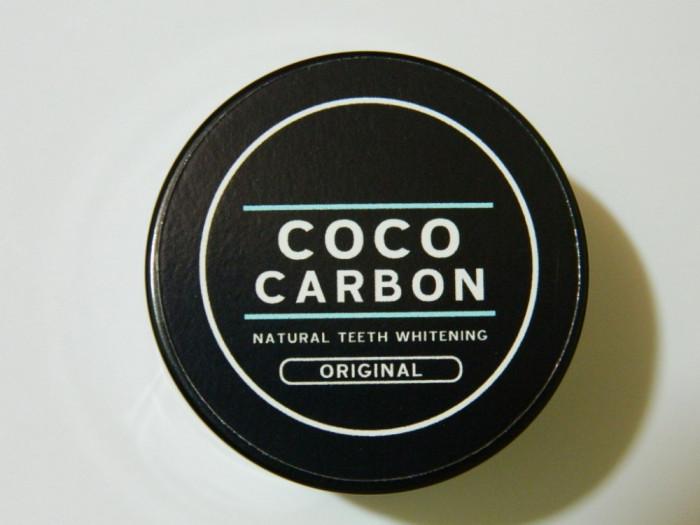 Coco Carbon - Albit albire dinti natural foto mare