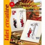 Decoratiuni Interioare 15 - Idei Creative - Carte de colorat