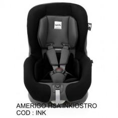 Scaun Auto Amerigo HSA Inkiostro - Scaun auto copii Inglesina, 0+ (0-13 kg), Isofix
