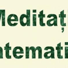 Meditatii matematica/fizica/informatica