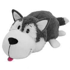 Mascota FlipaZoo 32 cm - Catel Husky si Urs Polar - Roboti de jucarie