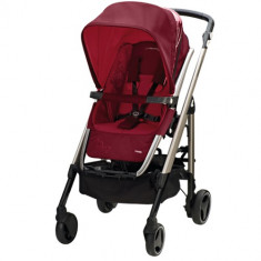 Carucior Loola 2 Trio Raspberry Red - Carucior copii 2 in 1 Bebe Confort