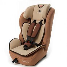 Scaun Auto Safety-Fix Beige 9 - 36kg - Scaun auto copii Kinderkraft, 1-2-3 (9-36 kg), Isofix