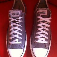 Converse All Star low top originali, nr.48-31, 5 cm. - Tenisi barbati Converse, Culoare: Gri, Textil