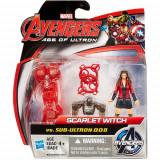 Mini Figurine Avengers - Scarlet Witch vs Sub Ultron 008, Hasbro