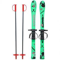 Skiuri Copii 90 cm Verzi