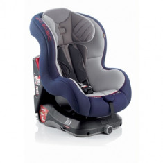 Scaun Auto Exo Basic 9-18 kg Albastru cu Gri - Scaun auto copii Jane, 1 (9-18 kg), Isofix