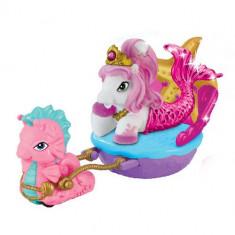Filly Ponei Sirena cu Caleasca Roz - Figurina Povesti