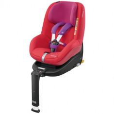 Scaun Auto 2Way Pearl Red Orchid - Scaun auto copii Maxi Cosi, 0+ (0-13 kg), Opus directiei de mers, Isofix