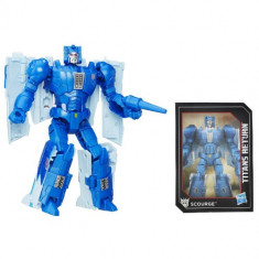 Figurina Transformers Titans Return Fracas si Scourge - Figurina Povesti Hasbro
