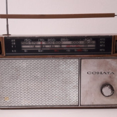 Radio COHATA vechi - Aparat radio