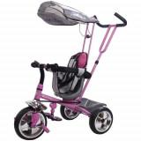 Tricicleta Super Trike Roz - Tricicleta copii