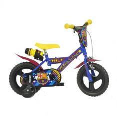 Bicicleta FC Barcelona 12 inch - Bicicleta copii Dino Bikes
