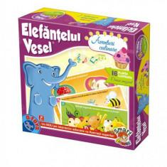 Elefantul Vesel - Aventuri Culinare - Jocuri Logica si inteligenta D-Toys