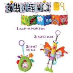 Kit Cadou Amicii Isteti - Jucarie pentru patut Taf Toys
