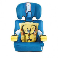 Scaun Auto Sponge Bob 9-36 kg - Scaun auto copii, 1-2-3 (9-36 kg), In sensul directiei de mers, Isofix