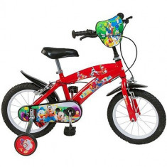 Bicicleta Mickey Mouse Club House 14 inch - Bicicleta copii Toimsa