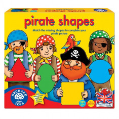 Joc Educativ Formele Piratilor - Jocuri Logica si inteligenta orchard toys