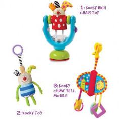 Kit Cadou Kooky - Jucarie pentru patut Taf Toys