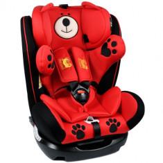 Scaun Auto cu Isofix Mos Martin 0-36 kg Red - Scaun auto copii, 0-1-2 (0-25 kg)
