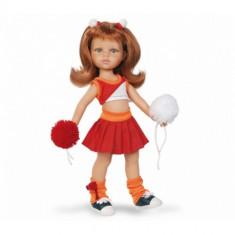 Papusa paola reina Cristi Majoreta, 4-6 ani, Plastic, Fata