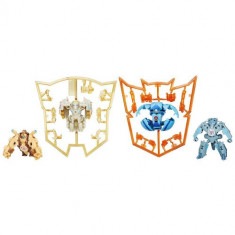 Set 4 Figurine Transformers Robots In Disguise Mini-Con - Figurina Povesti Hasbro