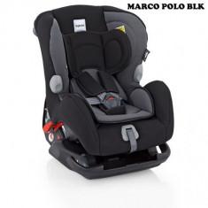 Scaun Auto Marco Polo Black - Scaun auto copii Inglesina, 0+ -1 (0-18 kg), Isofix