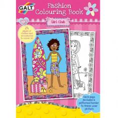 Fashion Colouring Book - Carte de Colorat Fashion