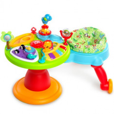 Centru de Activitati 3in1 Around We Go Zippity Zoo - Jucarie interactiva Bright Starts