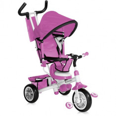 Tricicleta B302A 2016 Pink White - Tricicleta copii