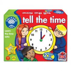 Joc Educativ Loto in Limba Engleza Citeste Ceasul - Jocuri Logica si inteligenta orchard toys
