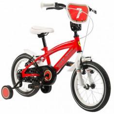 Bicicleta Kidteam Ferrari, 12 inch - Bicicleta copii