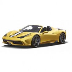Masinuta Rastar Ferrari 458 Speciale A, Scara 1:14 Galben