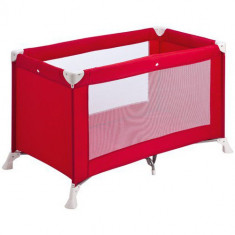 Patut Pliant Soft Dreams Red - Patut pliant bebelusi Safety 1st, 120x60cm, Rosu