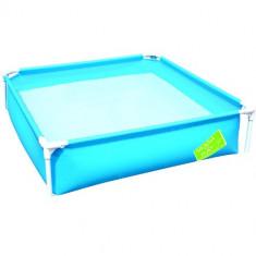 Piscina cu Cadru Metalic 122 cm Albastru Bestway