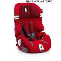Scaun Auto Prime Miglia I-FIX Red - Scaun auto copii Inglesina, 1-2-3 (9-36 kg), Isofix