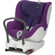 Scaun Auto DualFix 2016, 0 - 18 kg Mineral Purple - Scaun auto copii Romer, 0+ -1 (0-18 kg), Opus directiei de mers, Isofix