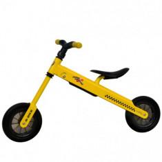 Bicicleta fara Pedale B-Bike Galben - Bicicleta copii