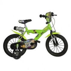 Bicicleta Ninja Turtles 14 Inch - Bicicleta copii Dino Bikes