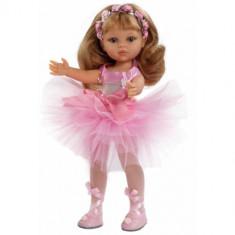 Papusa paola reina Carla Balerina, 4-6 ani, Plastic, Fata