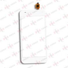 Touchscreen Geam Sticla Allview P5 Life Alb - Touchscreen telefon mobil