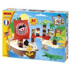 Set Constructii Comoara Piratilor - Set de constructie Ecoiffier
