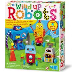 Set Creatie Roboti - Jocuri Logica si inteligenta 4M