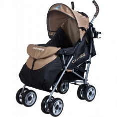 Carucior Sport Spacer beige - Carucior copii 2 in 1 Caretero