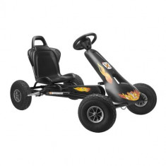 Kart Air Racer Negru - Kart cu pedale ferbedo