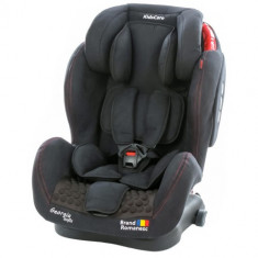 Scaun Auto Georgia cu Isofix Top Tether Negru - Scaun auto copii, 2-3 (15-36 kg)
