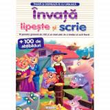 Invata si Distreaza-te cu Ursulica - Carte de colorat
